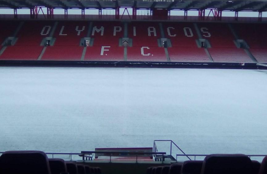 "Photo of Η ""χιονισμένη"" καλημέρα του Ολυμπιακού! (pics)"