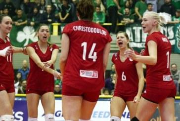 Άνετα τα κορίτσια 3-1 τον Παναθηναϊκό στο Μετς!