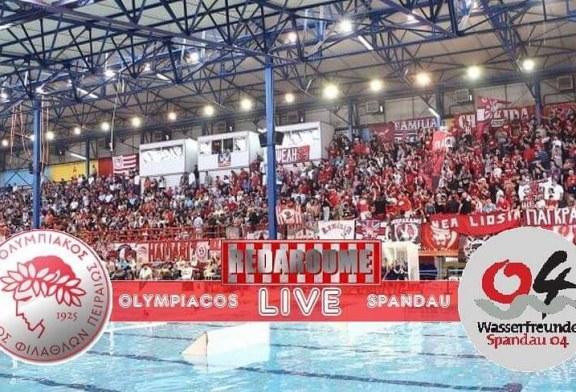 LIVE: Ολυμπιακός – Σπαντάου