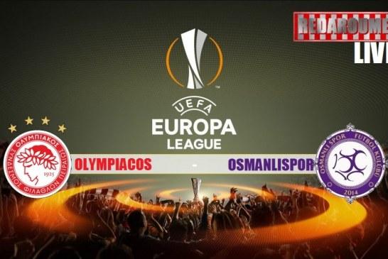 LIVE: Ολυμπιακός – Οσμάνλισπορ