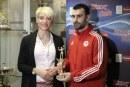 Παρέλαβε το βραβείο του MVP ο Στιβαχτής