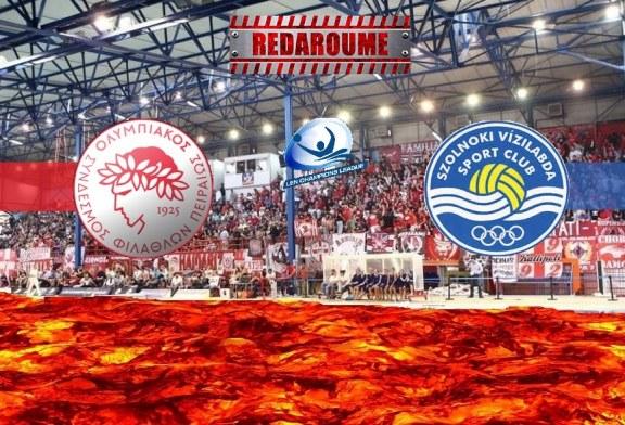 LIVE: Ολυμπιακός – Ζόλνοκ