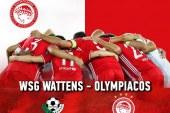 LIVE: Βάτενς – Ολυμπιακός