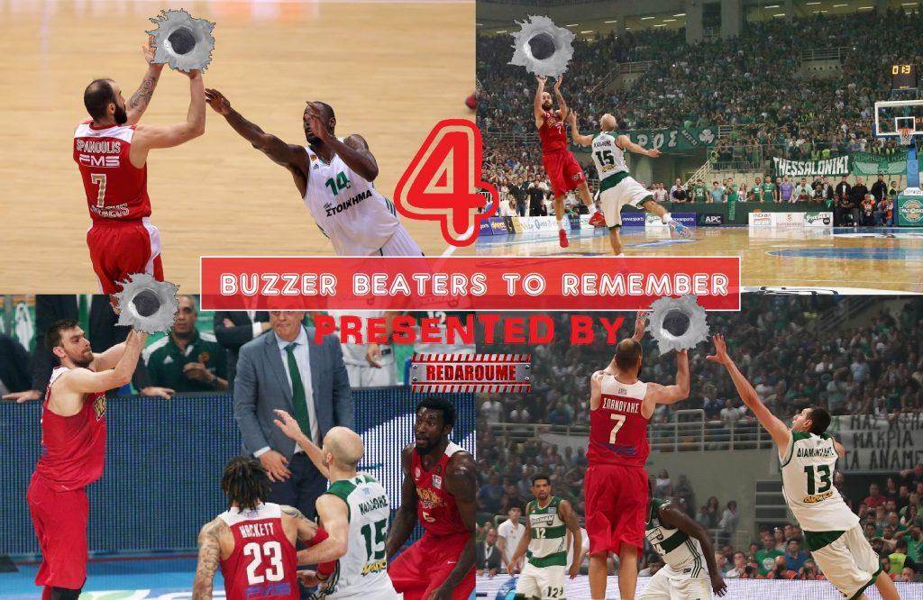 Photo of Τα τέσσερα αλησμόνητα buzzer beater εναντίον του Παναθηναϊκού (video)