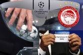 LIVE: Η κλήρωση των playoffs του Champions League