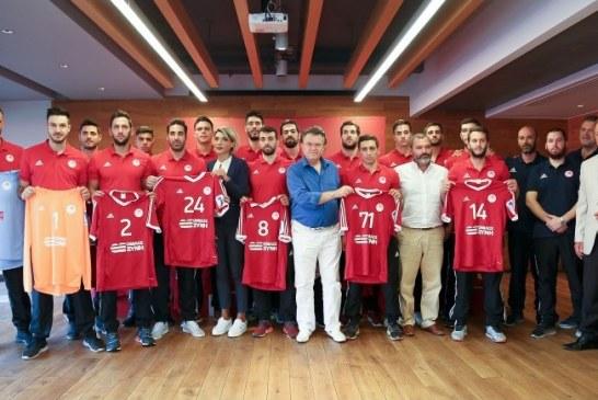Η παρουσίαση της ομάδας Χάντμπολ Ανδρών (vid)