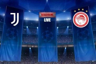Champions League LIVE: Γιουβέντους – Ολυμπιακός