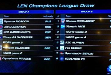 Το πρόγραμμα του Θρύλου στο Champions League
