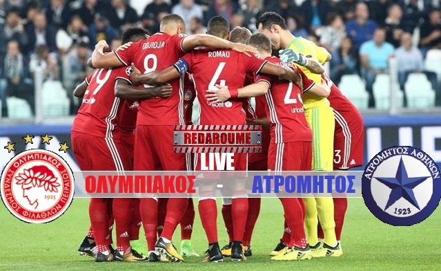 Photo of LIVE: Ολυμπιακός – Ατρόμητος