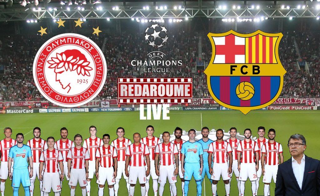 Photo of Champions League LIVE: Ολυμπιακός – Μπαρτσελόνα