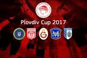 Οι αντίπαλοι του Θρύλου στο Plovdiv Cup 2017!