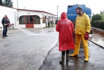 Ξανά στο πλευρό των πλημμυροπαθών