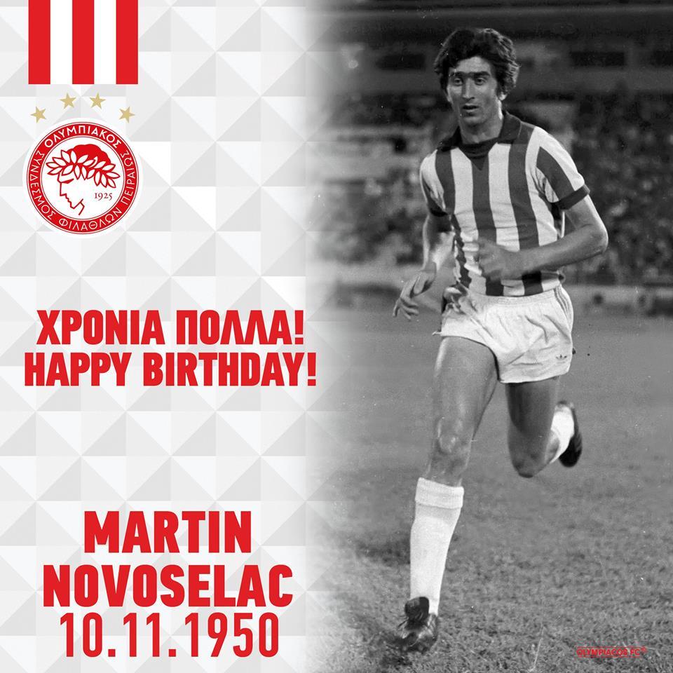 Photo of Χρόνια πολλά στον θρυλικό Μάρτιν Νοβοσέλατς