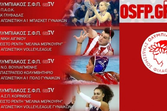 OSFP TV LIVE Streaming: Οι αγώνες του Ερασιτέχνη