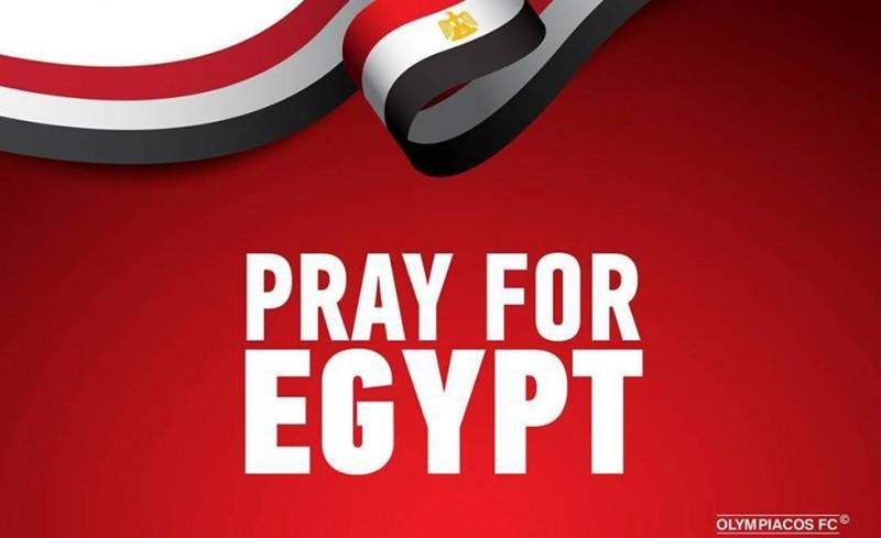 Photo of «Οι σκέψεις μας στα θύματα και στις οικογένειές τους στην Αίγυπτο»