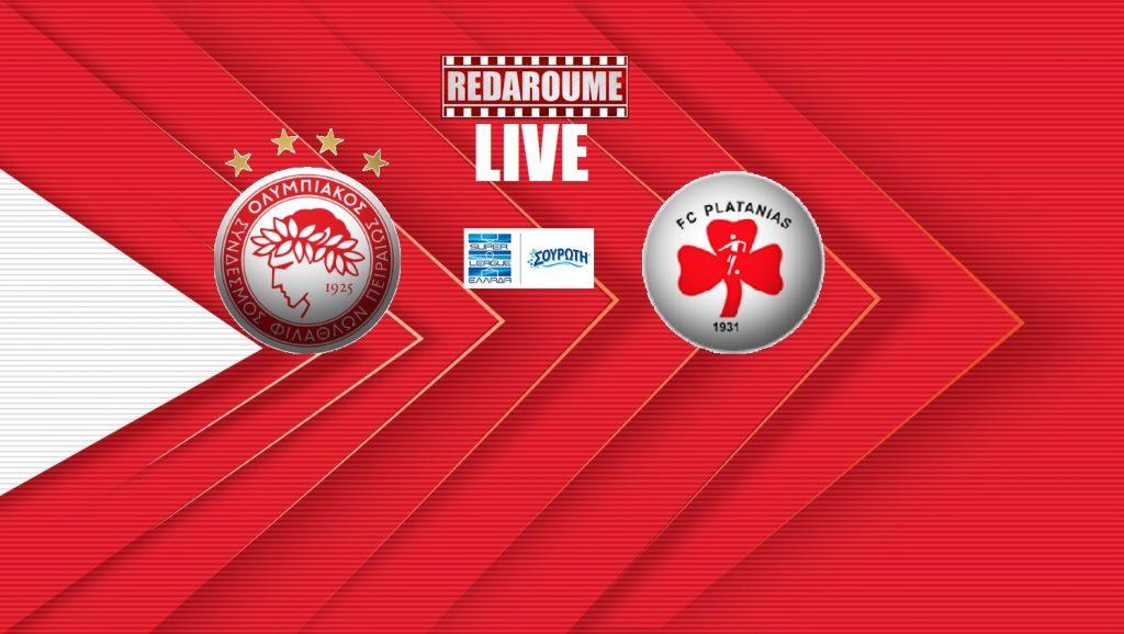 Photo of Superleague LIVE: Ολυμπιακός – Πλατανιάς
