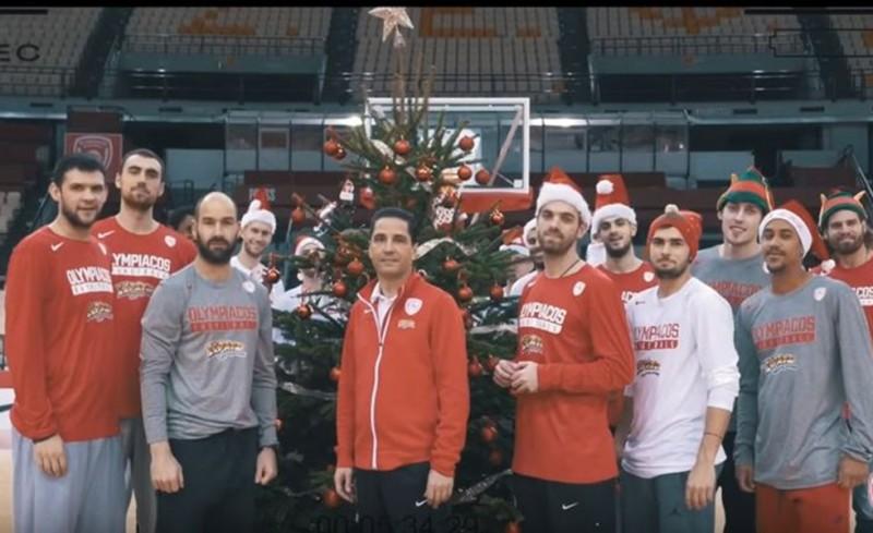 Photo of Βίντεο -Επος του Olympiacos bc για τα Χριστούγεννα(Video)