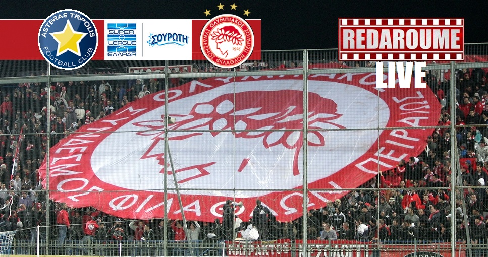 Photo of Super League LIVE: Αστέρας Τρίπολης – Ολυμπιακός