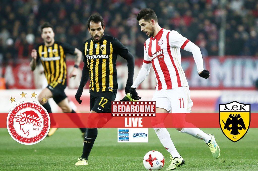 Photo of Super League LIVE: Ολυμπιακός – ΑΕΚ