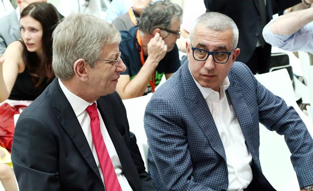 Photo of Σκινδήλιας και Σταυρόπουλος στο Euroleague Board