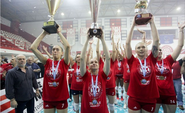 Photo of Συγχαρητήρια της ΚΑΕ Ολυμπιακός για το ιστορικό τρεμπλ