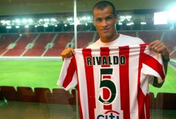 Η ημέρα που ήρθε ο Ριβάλντο στον Θρύλο! (Videos)