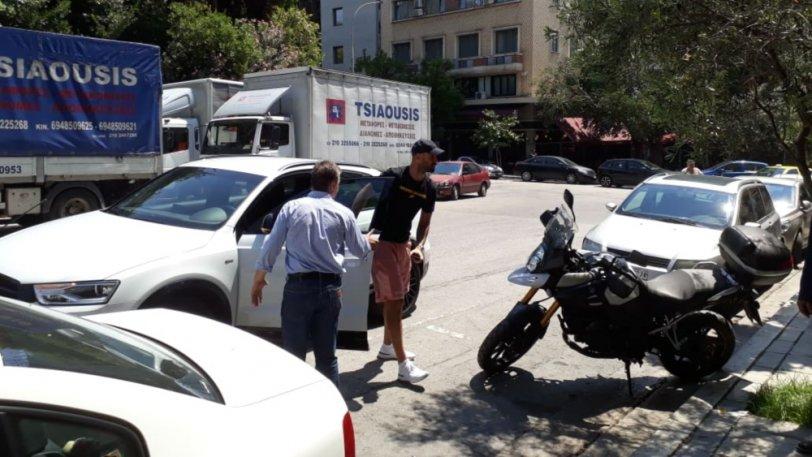 Photo of Στα γραφεία της KAE Oλυμπιακός ο Βασίλης Σπανούλης (Video)