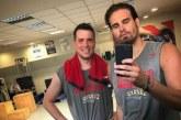 «Λιώνουν» στο γυμναστήριο Μπόγρης και Αγραβάνης