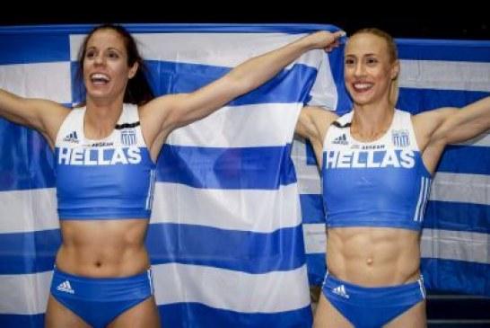 Ελληνική κυριαρχία στο άλμα επί κοντώ