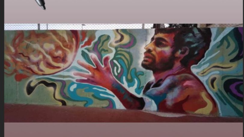 Photo of Ένα γκράφιτι για τον Γιώργαρο