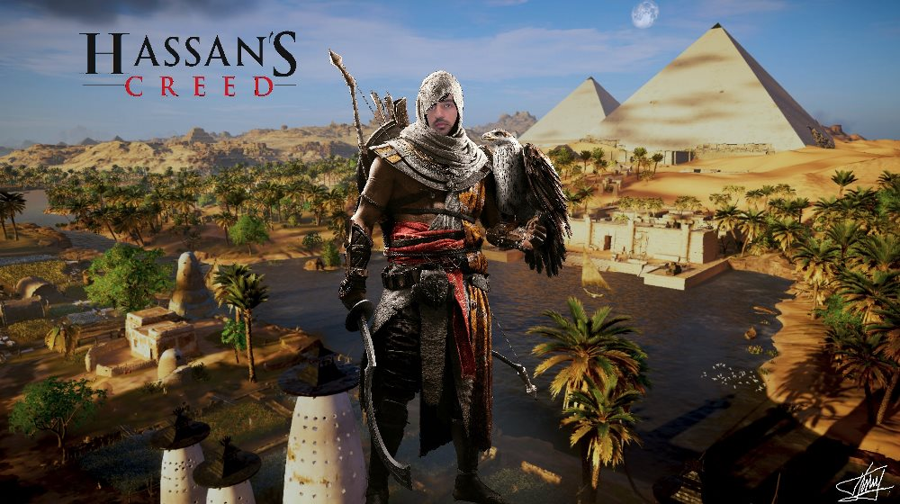 Photo of Hassan's Creed!