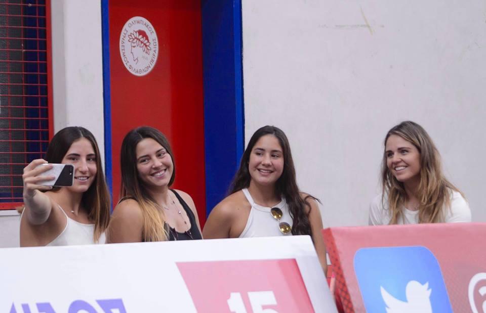 Photo of Τα ερυθρόλευκα κορίτσια στο Βόλει (photos)