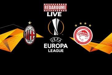 Europa League LIVE: Μίλαν – Ολυμπιακός