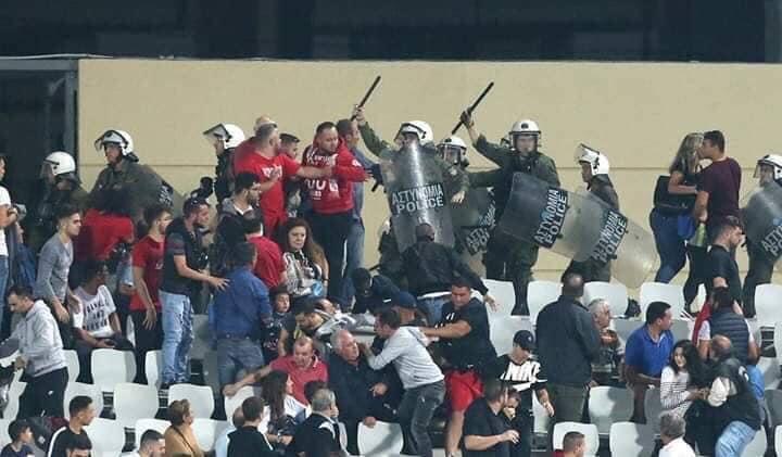 """Photo of """"Δεν διαπιστώθηκε ούτε καταγγέλθηκε τραυματισμός αστυνομικών και φιλάθλων"""""""
