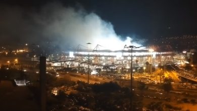 Photo of Όταν η Θύρα 7 βάζει φωτιά… από ψηλά (video)