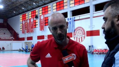 Photo of Ζαραβίνας: «Κοιτάμε κάθε παιχνίδι με σοβαρότητα» (video)