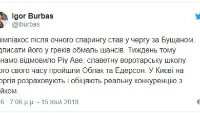 Photo of Ουκρανός κίπερ για Ολυμπιακό(Pic)