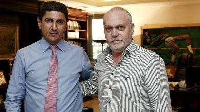 Photo of Σε καλό κλίμα η συνάντηση του Λευτέρη Αυγενάκη με τον Μιχάλη Κουντούρη