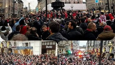 Photo of Πάνω από 5.000 οπαδοί κοκκίνισαν το Λονδίνο