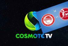 Photo of Ζωντανά από την Cosmote ΤV το Ολυμπιακός- Μέλσουνγκεν