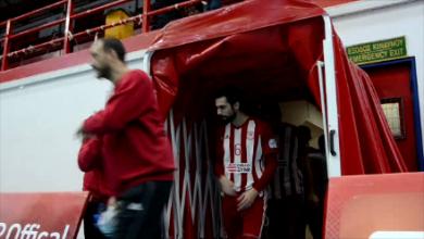 Photo of Η είσοδος της ομάδας στο Ρέντη ( video)