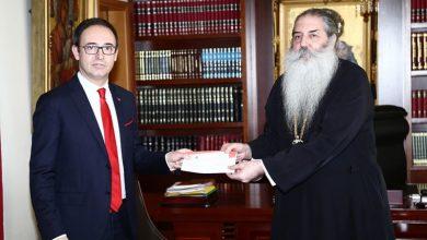 Photo of Προσφορά του Βαγγέλη Μαρινάκη στην Μητρόπολη Πειραιά