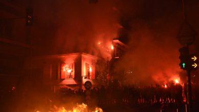 "Photo of ""Κάηκε"" ο Πειραιάς για το 45ο(Pics-Videos)"
