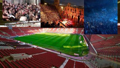 Photo of Γεμάτα θέατρα και συναυλιακοί χώροι, αλλά με τα γήπεδα τι γίνεται;